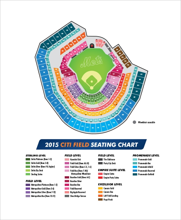 city field seating chart