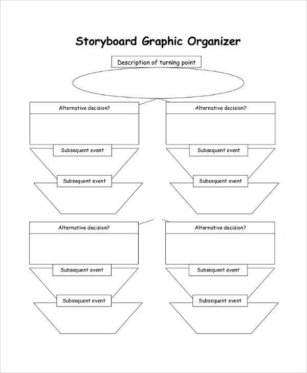 Graphic Storyboard Organizer