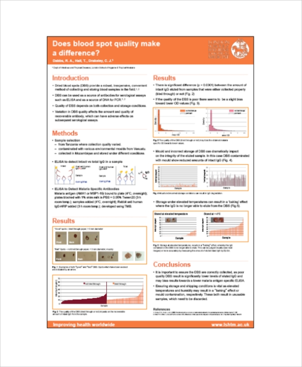 producing a research poster