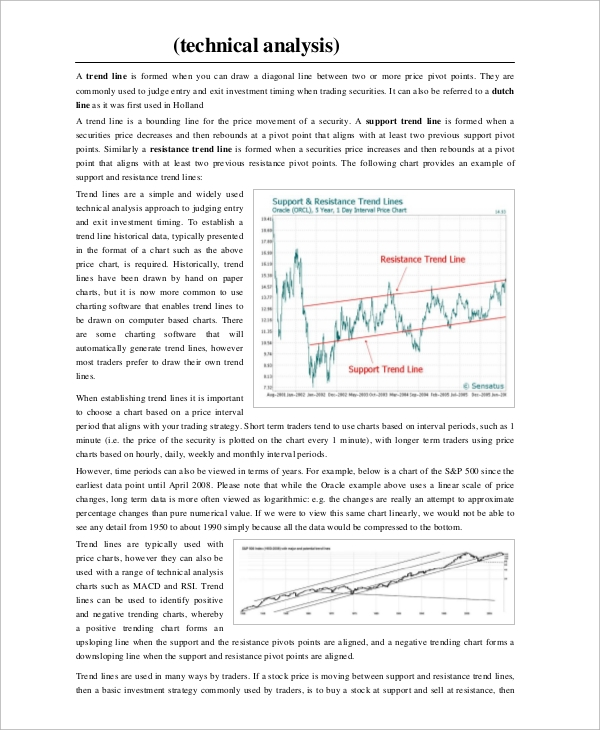 Sample Stock Market Analysis - 5+ Documents In Pdf