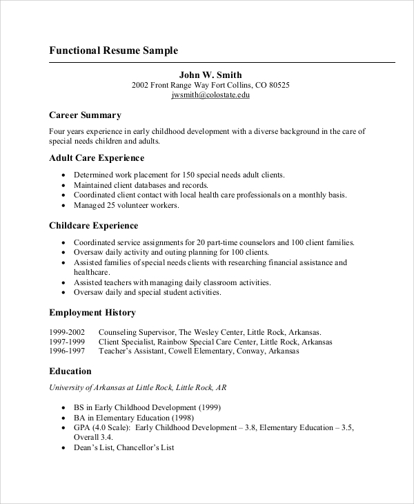 resume template basic 8 basic resume samples examples templates sample 24378