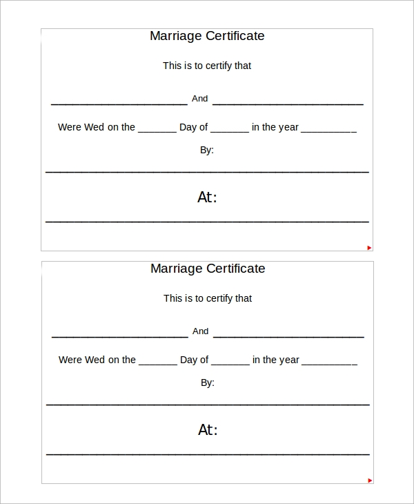 This is a graphic of Ridiculous Marriage Certificate Template Word