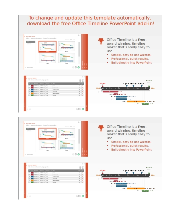8 powerpoint timeline samples sample templates