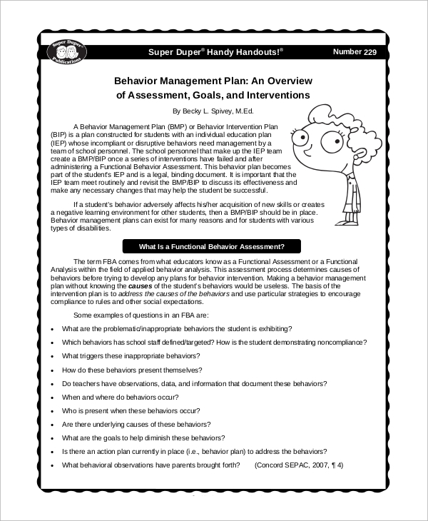 Sample Management - 19+ Examples In Word, Pdf