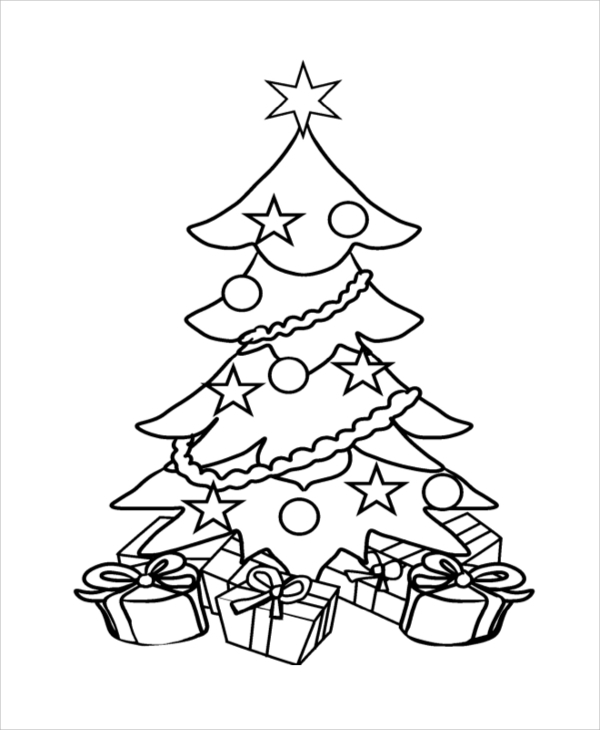 free coloring pages to copy | Printable Coloring Page Sample - 11+ Examples in PDF