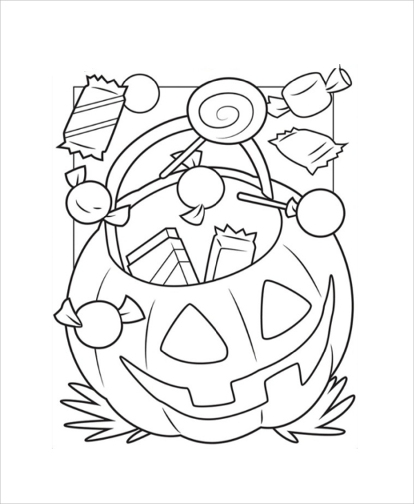 Printable Coloring Page Sample 9 Examples In Pdf