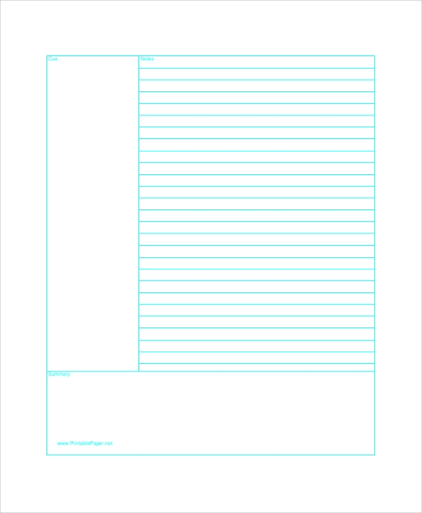 printable lined paper samples  examples  templates