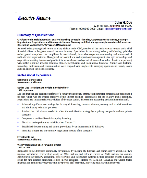 administrative assistant resume template word 2003 executive operations manager format free
