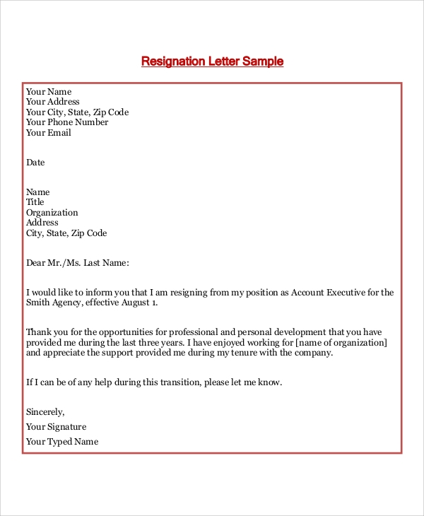 Formal Letter Format 8 Samples Examples In Word Pdf