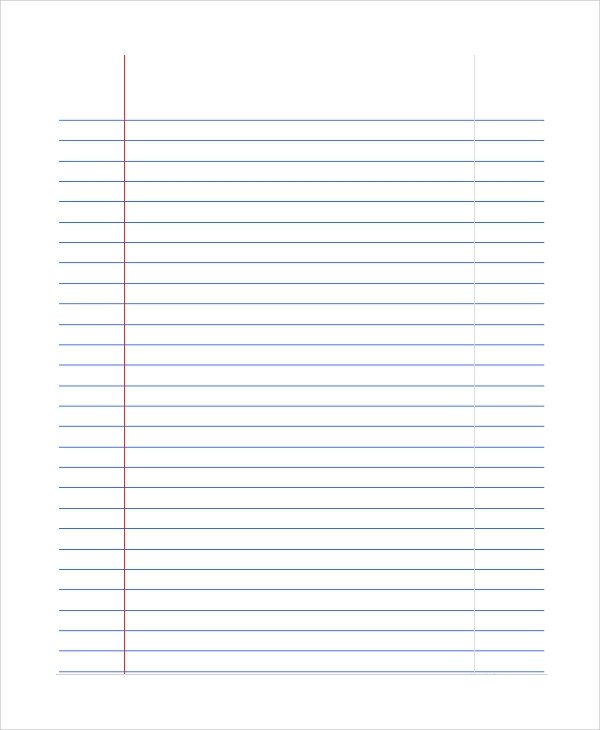 wide lined paper This letter-sized lined paper is wide ruled in portrait (vertical) orientation we have the same paper with blue lines, too free to download and print.