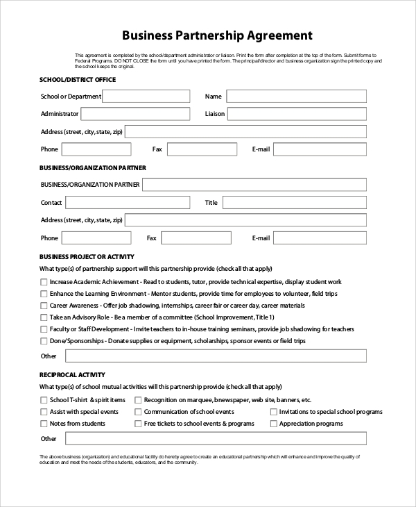 Partnership Agreement Template  UpCounsel