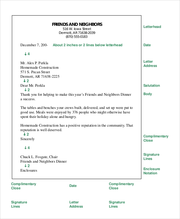 8 Sample Formal Letters Pdf Doc Sample Templates