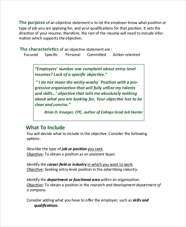 7 Sle Resume Objective Exles Templates. Customer Service Resume Objective Exle. Resume. Resume Objective Exles Customer Service At Quickblog.org
