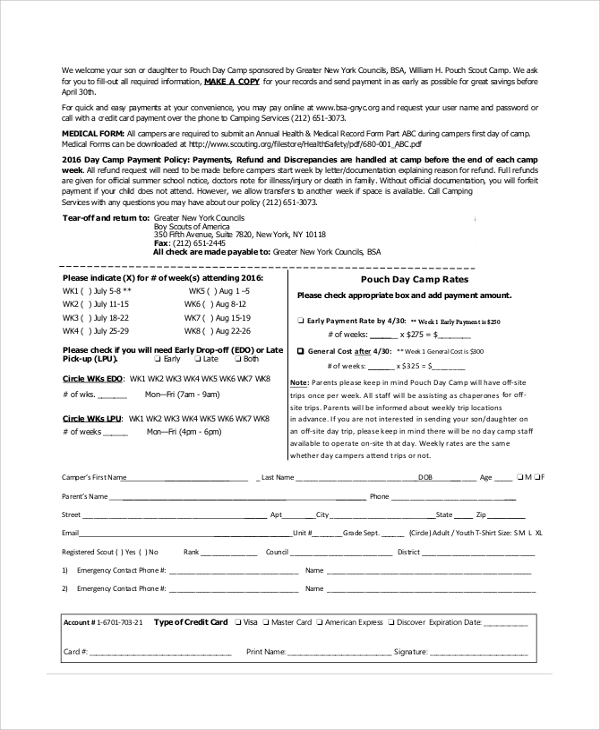 Sample Medical Form Medical History Forms Free Sample Example