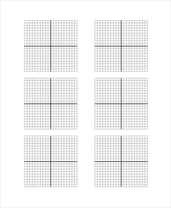 Sample Graph Paper Printable   Examples In Pdf Word Excel