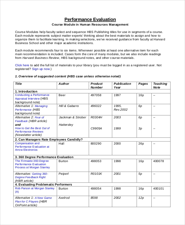 8 performance review examples sample templates for 360 performance evaluation template