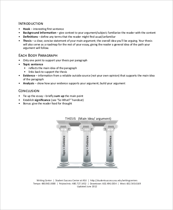 Carpentry paper writing examples