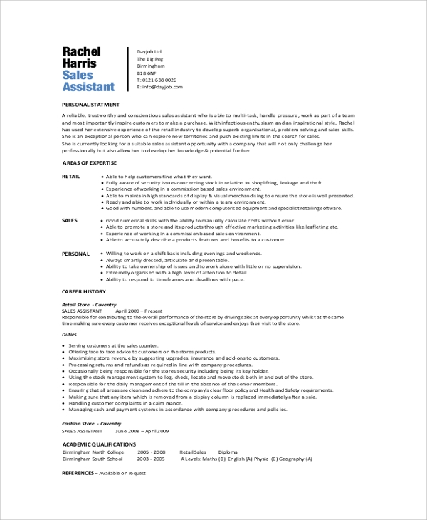 Sales Admin Assistant Resume Samples - LiveCareer