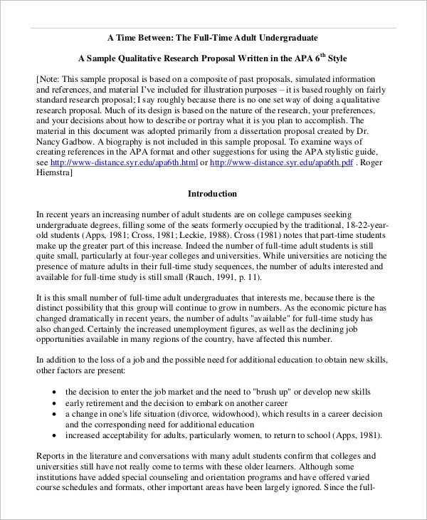qualitative research thesis proposal Drafted by lynet uttal using the quantitative research proposal guidelines and in consultation with gpc (5/99) guidelines for your thesis or dissertation proposal.