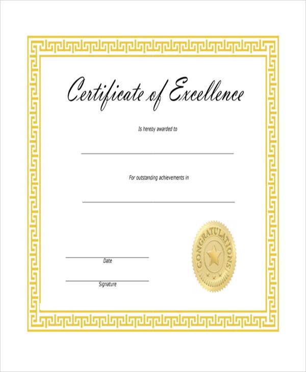 printable blank certificate