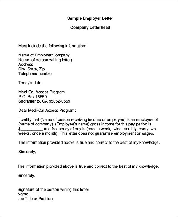 Letterhead Example - 7+ Samples In Pdf