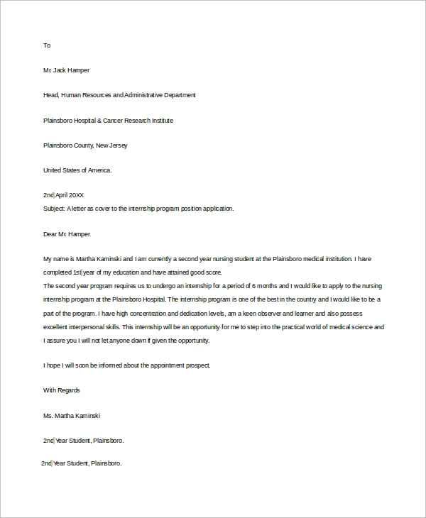 Cover letter examples student how to write a cover letter student summer job expocarfo Gallery