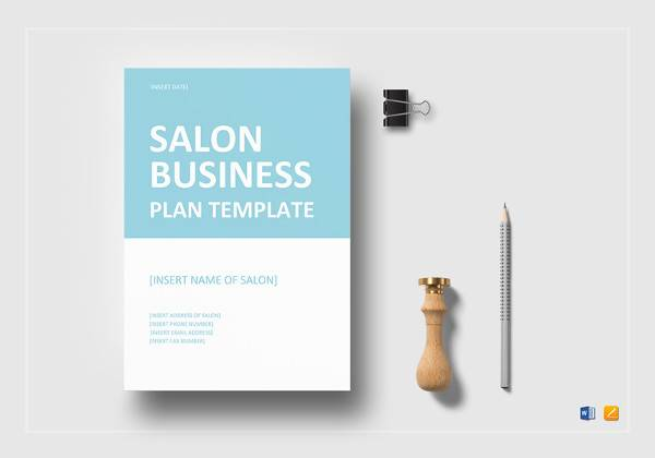 salon business plan template in google docs
