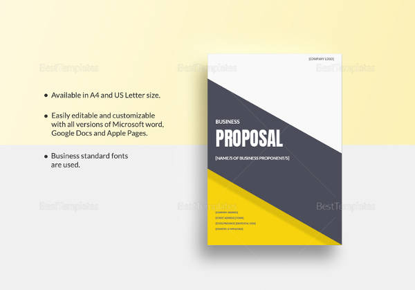 Sample Business Proposal 16 Examples In Pdf