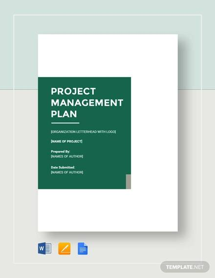 sample project management plan1