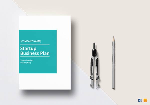 startup business plan template to print