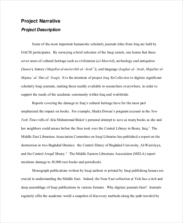 Sample Project Proposal   Examples In Word Pdf