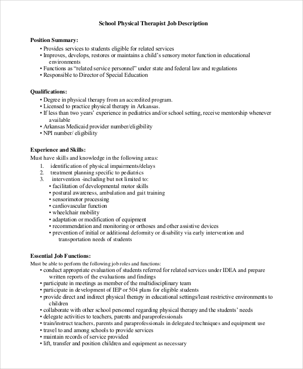 Job Descriptions And Duties Template. Cosmetologist Resume Sample