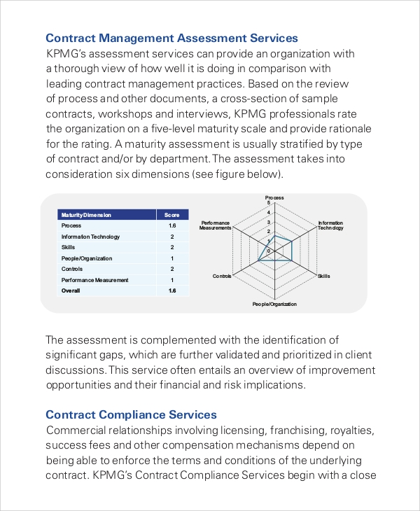 contract management services