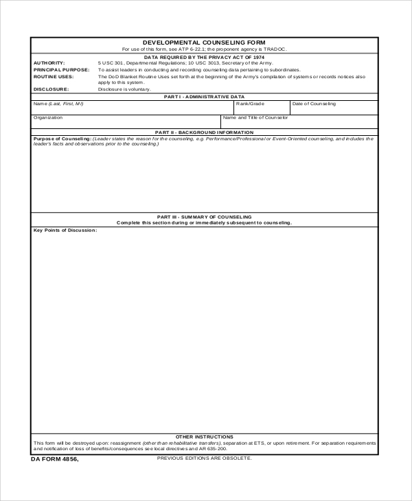 usmc counseling sheet template - usmc counseling sheet word