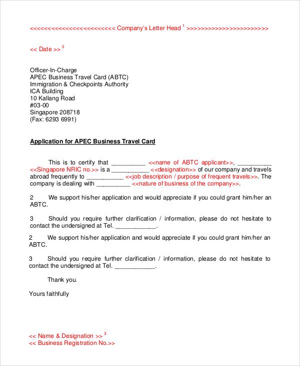 basic company letterhead