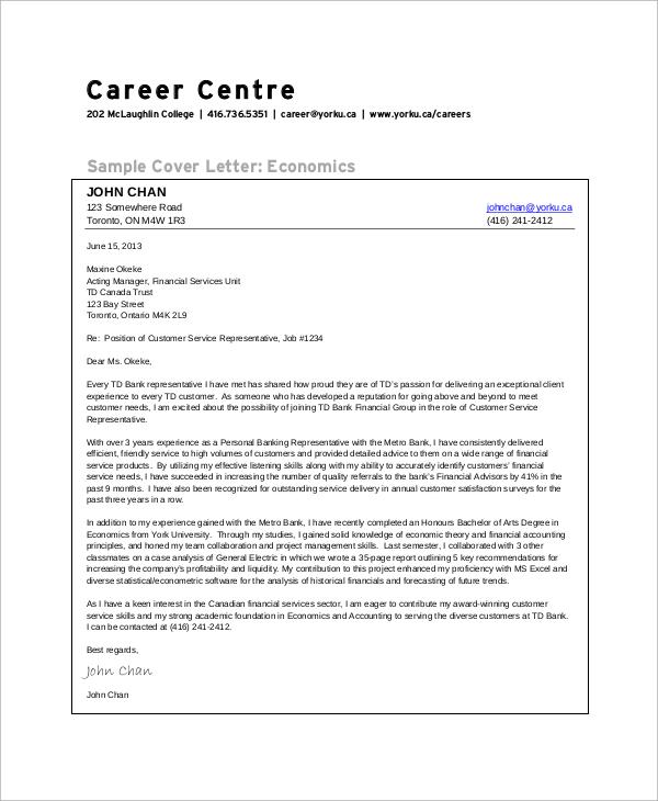 bank customer service cover letters - Monza berglauf-verband com