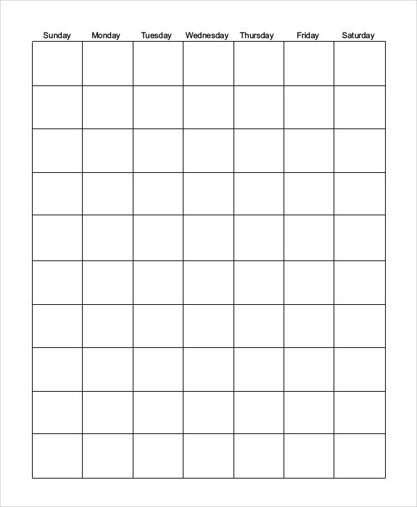 printable blank calendar1