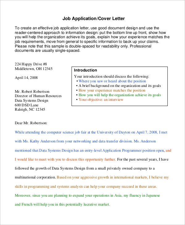 general cover letter for career fair Writing a cover letter that accompanies your resume for a specific position usually states your interest in the job as well as a statement or two that.