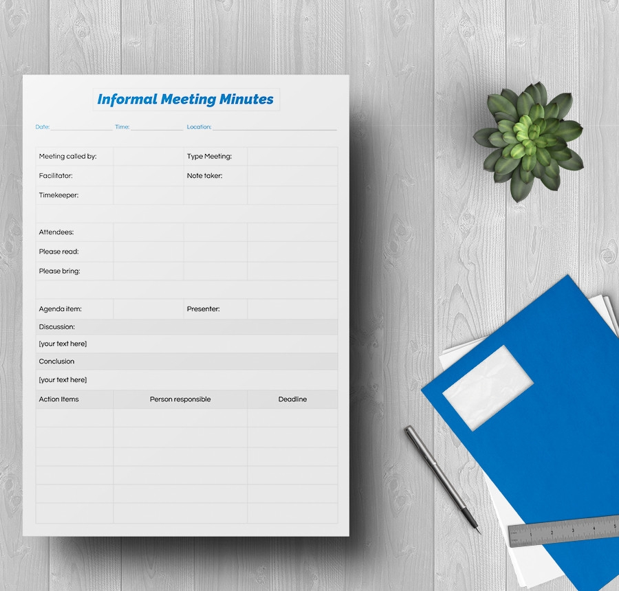 free 6  sample meeting minutes  corporate  non profit  board