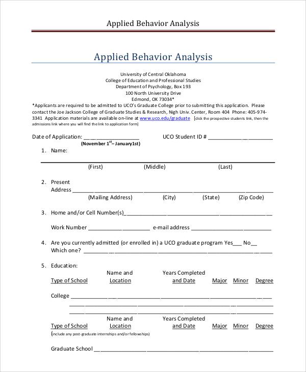 applied behavior analysis job