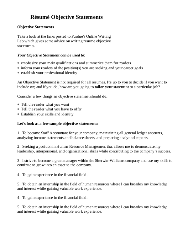 Guidance for Writing a Great Personal Statement