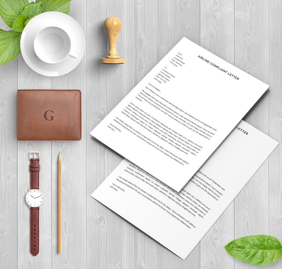 Free Sample Complaint Letters | Sample Templates