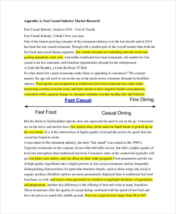 restaurant marketing plan sample