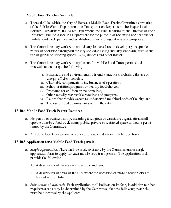 Mobile Food Truck Business Plan Sample Pdf Food - Business plan templates pdf