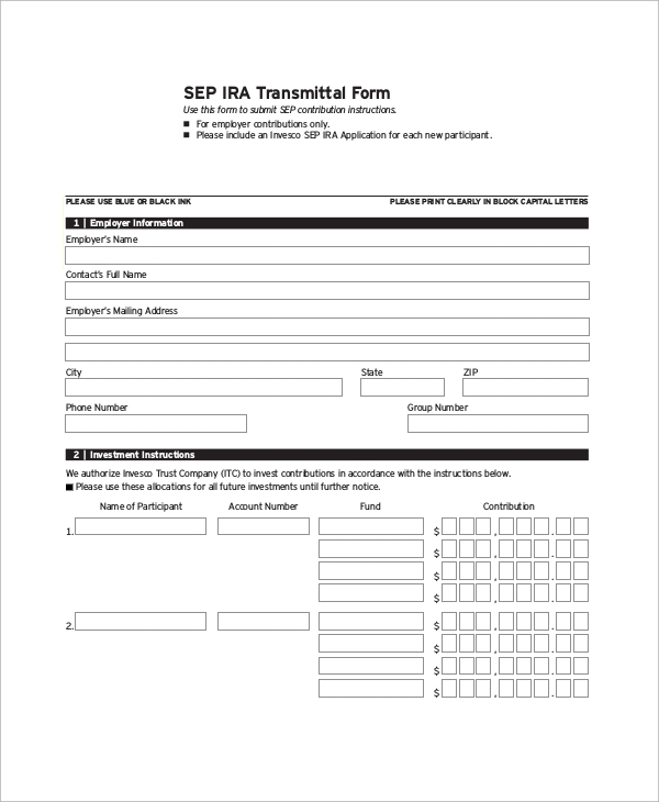Sample Transmittal Form   Examples In Pdf