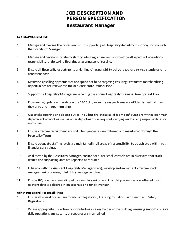 service manager job description cover letter computer it articles