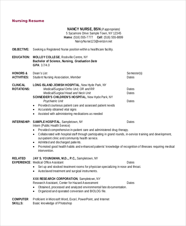Sample Objective For Resume - 10+ Examples In Word, Pdf
