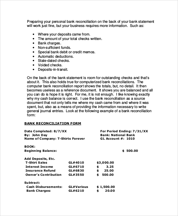 Bank Reconciliation Example  Resume Template Sample. Resume Templates For Openoffice Free Download. Cs Resume Template. Engineering Profile Resume. Sas Data Analyst Resume. Sports Resume Format. Sample College Freshman Resume. Sample Of Professional Resume With Experience. Office Clerk Resumes