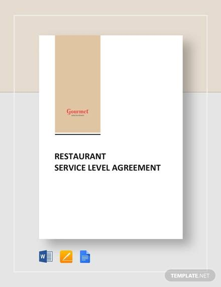 restaurant service level