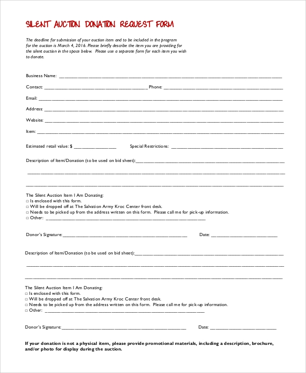 Sample Donation Form  TvsputnikTk